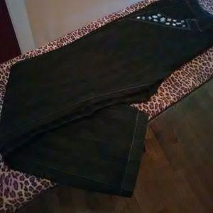 Black Ashley Stewart Jeans